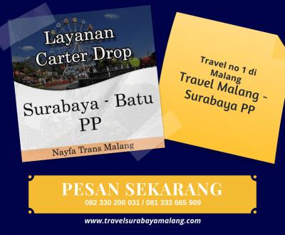 Travel Malang Surabaya terbaik